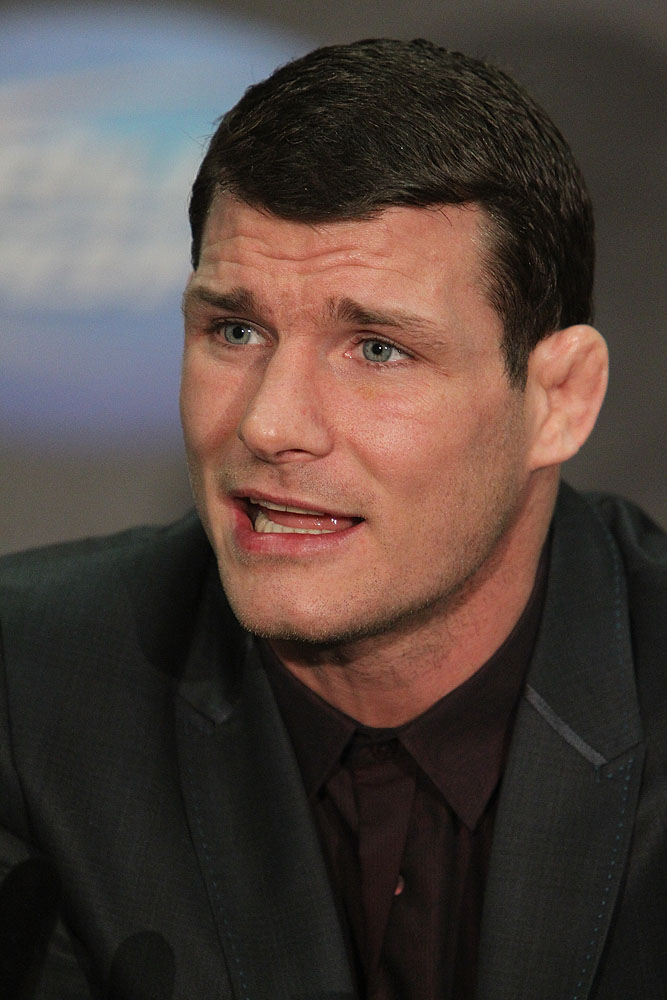 UFC 120 Press Conference - Michael Bisping