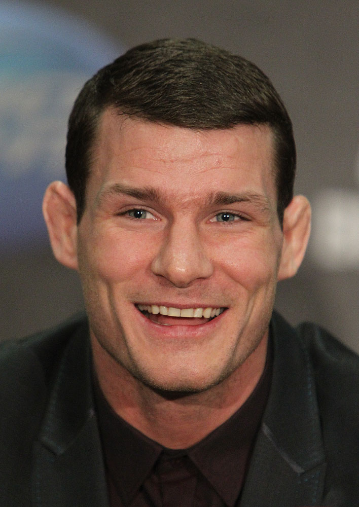 Michael Bisping at the UFC 120 Press Conference