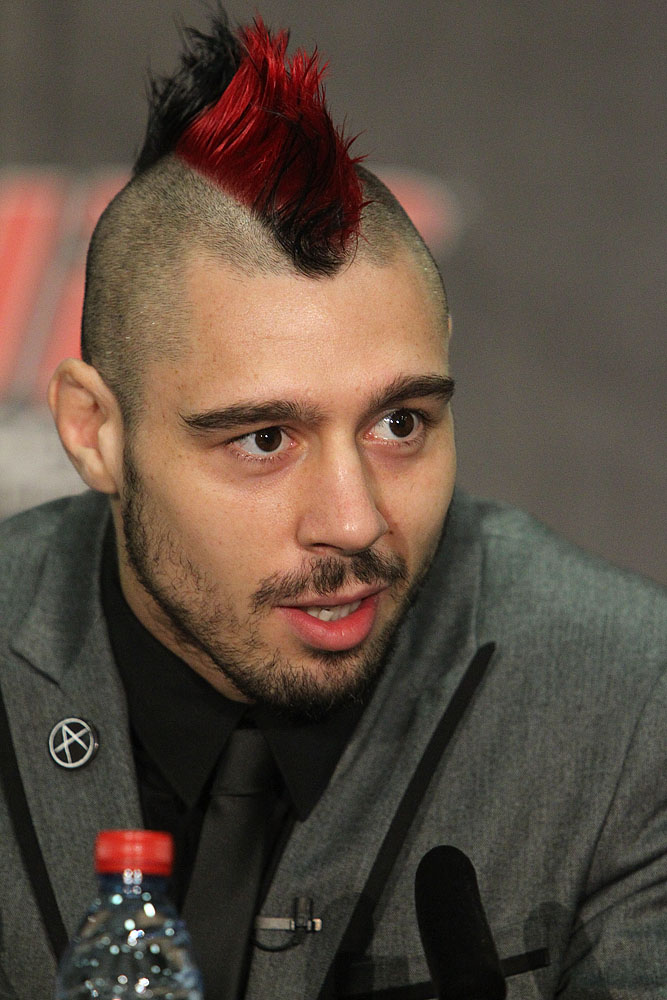 Dan Hardy at the UFC 120 Press Conference