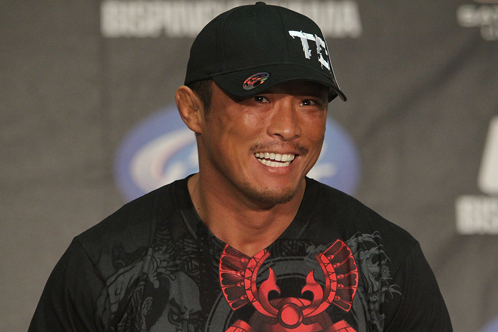 Yoshihiro Akiyama at the UFC 120 Press Conference