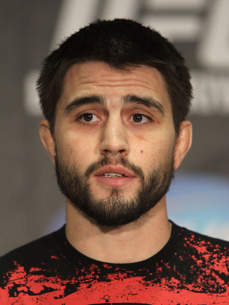 Carlos Condit at the UFC 120 Press Conference