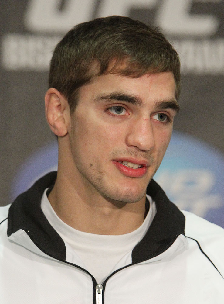 John Hathaway at the UFC 120 Press Conference
