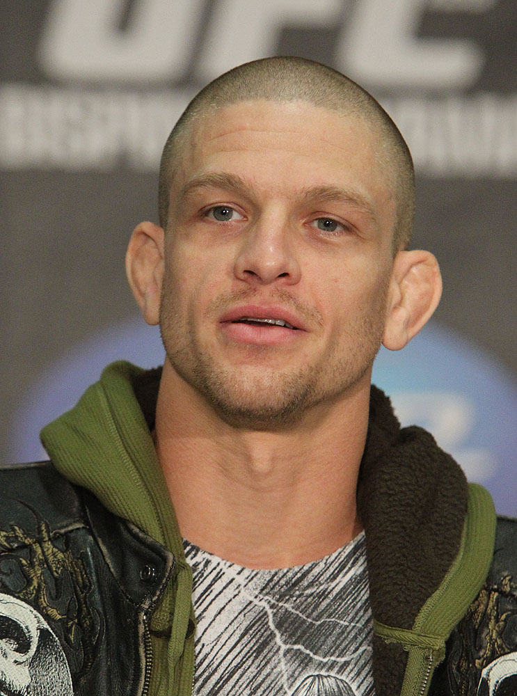 Mike Pyle at the UFC 120 Press Conference