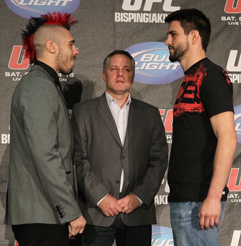 UFC 120 Press Conference: Hardy vs. Condit