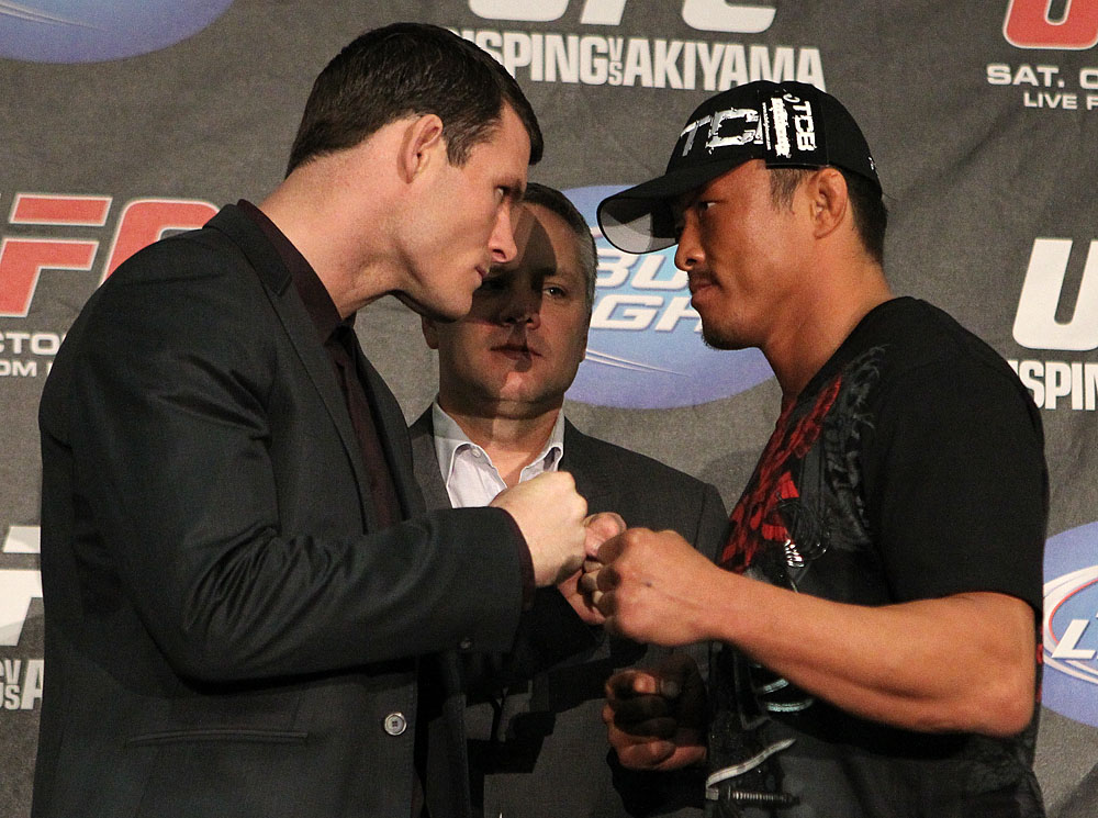 UFC 120 Press Conference: Bisping vs. Akiyama