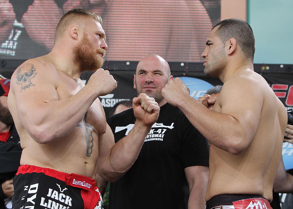 Brock Lesnar & Cain Velasquez