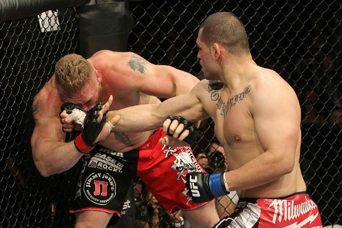 Cain Velasquez vs Brock Lesnar