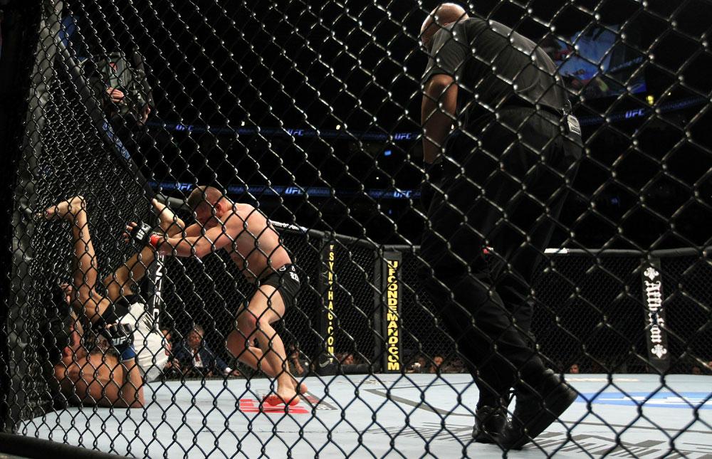UFC 124: Bongfeldt vs. Natal