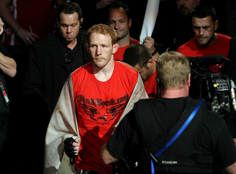 UFC 124: Bocek enters the ring.