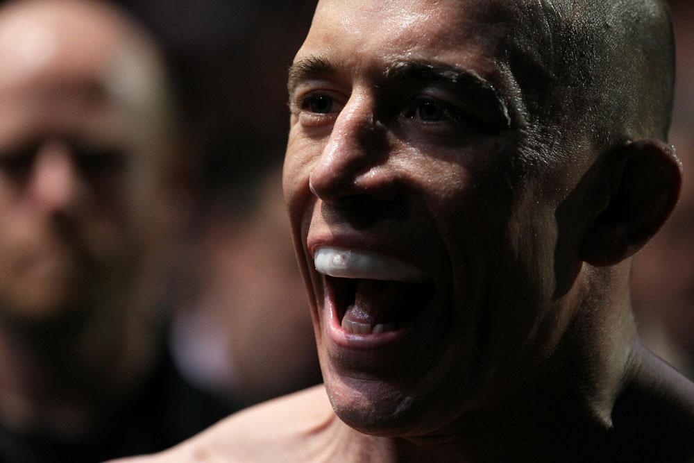 UFC 124: Georges St-Pierre
