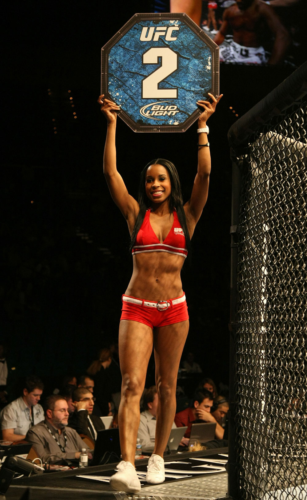 UFC 125 Chandella during Volkmann vs. McKee
