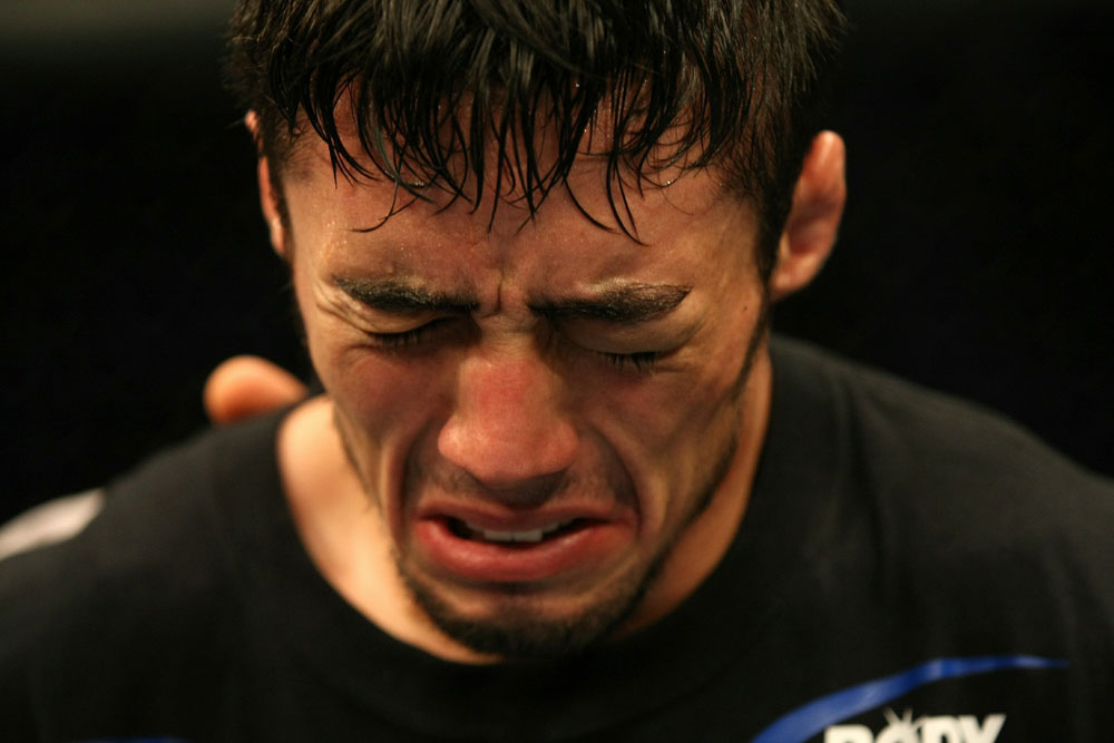 UFC 125: Diego Nunes after his victory over Brown.