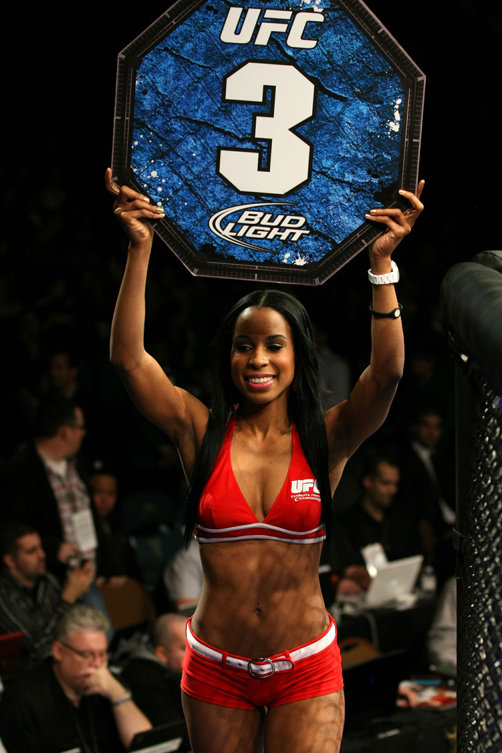 UFC 125: Octagon Girl Chandella
