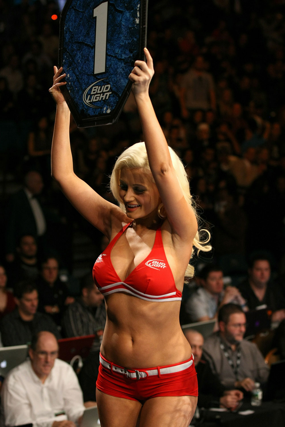 UFC 125: Guest Octagon Girl, Holly Madison