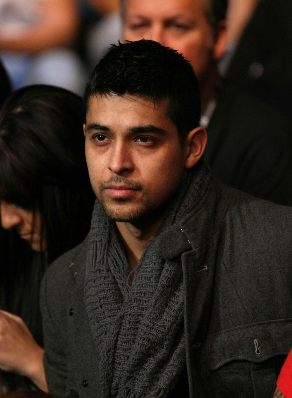 UFC 125: TV Personality Wilmer Valderama in attendance.