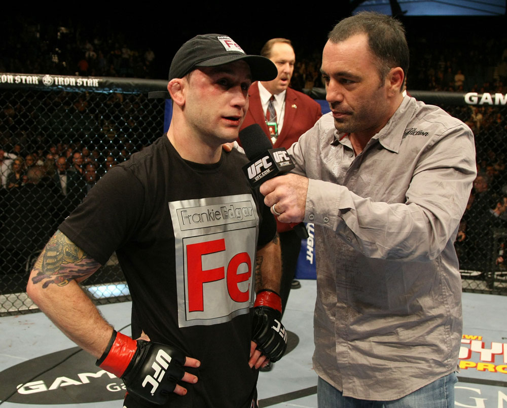 UFC 125: Frankie Edgar speaks to Joe Rogan about the split decision.