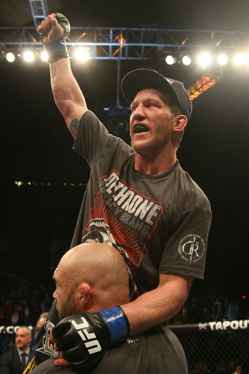 UFC 125: Gray Maynard after the split decision.