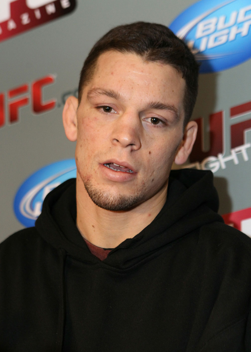 Nate Diaz at the UFC 125 Open Workouts.