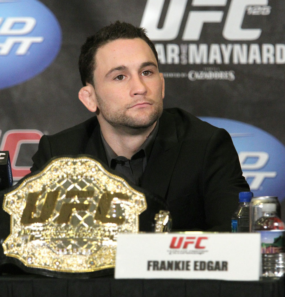 Frankie Edgar at the UFC 125 Pre-Fight Press Conference
