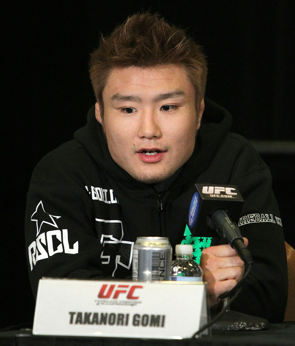 Takanori Gomi at the UFC 125 Pre-Fight Press Conference