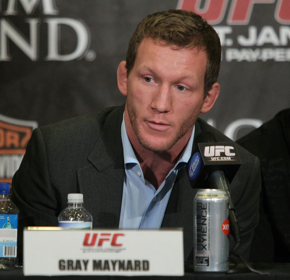 Gray Maynard at the UFC 125 Pre-Fight Press Conference.