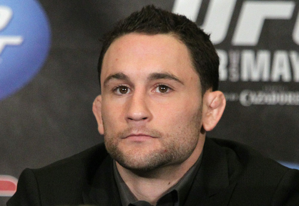 Frankie Edgar at the UFC 125 Pre-Fight Press Conference.