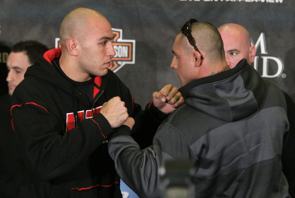 Vera vs. Silva at the UFC 125 Pre-Fight Press Conference.