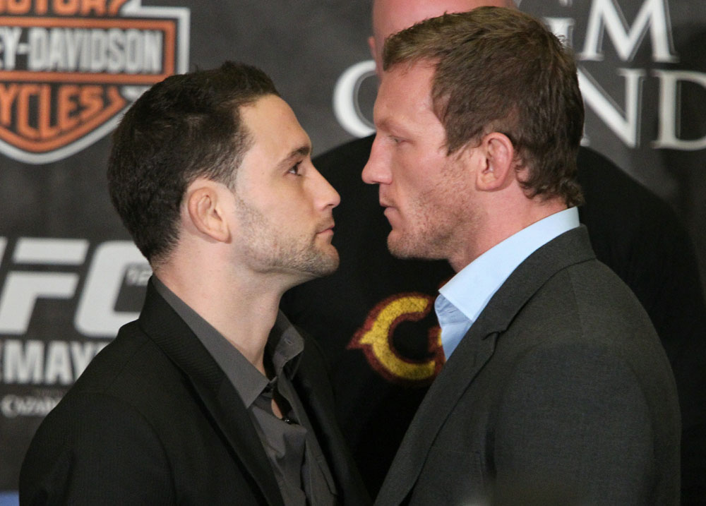 Edgar vs. Maynard at the UFC 125 Pre-Fight Press Conference.