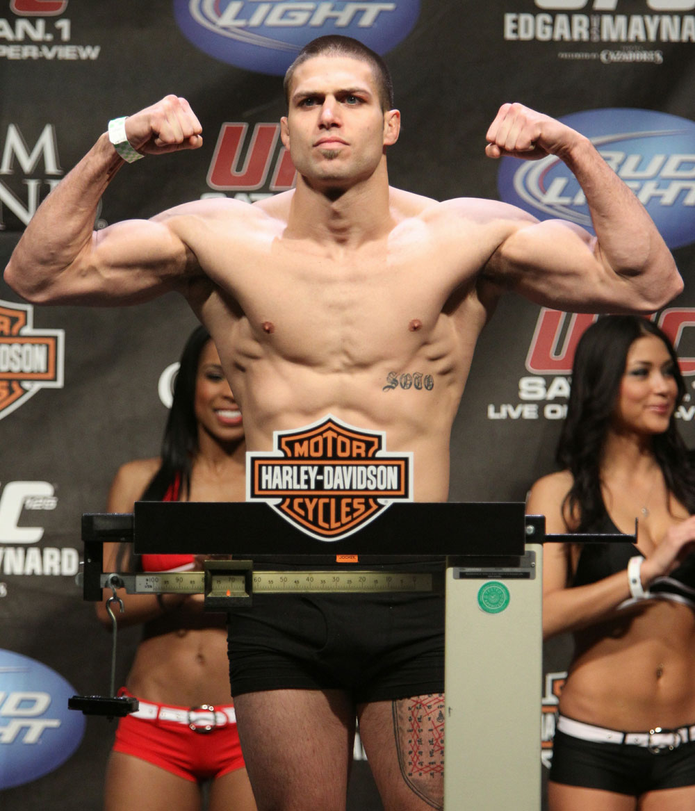 Greg Soto at the UFC 125 Weigh-in.