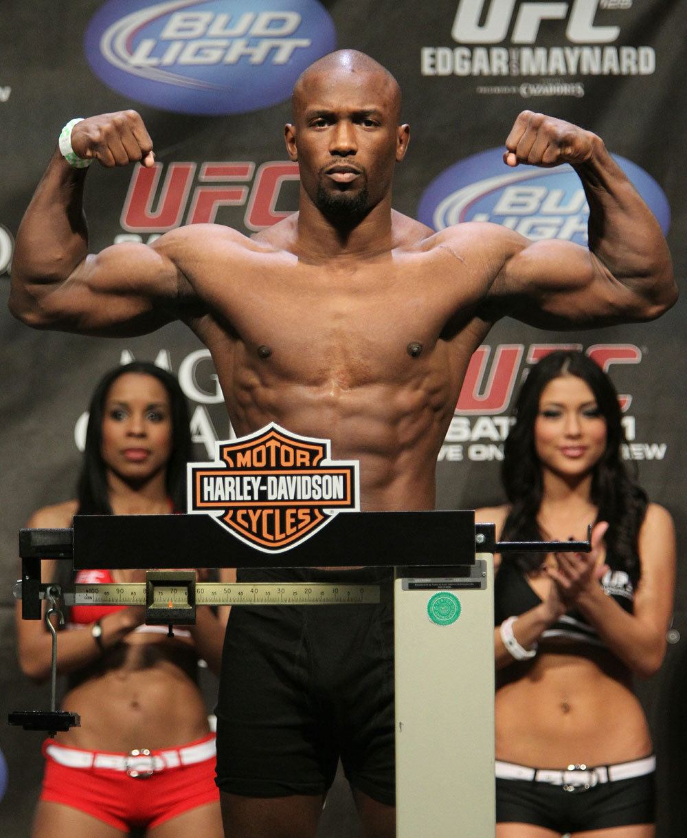 Daniel Roberts at the UFC 125 Weigh-in.