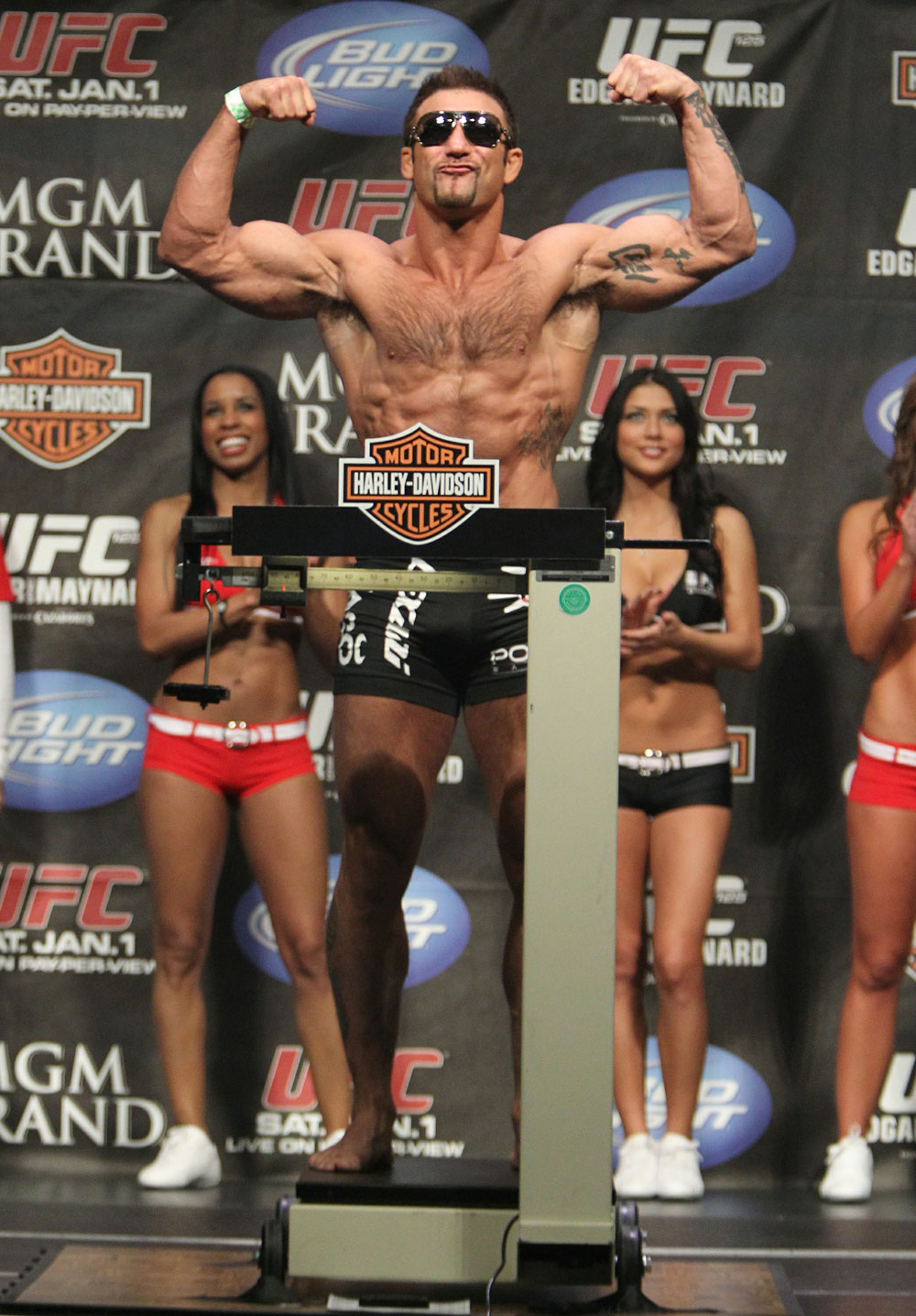 Phil Baroni at the UFC 125 Weigh-in.