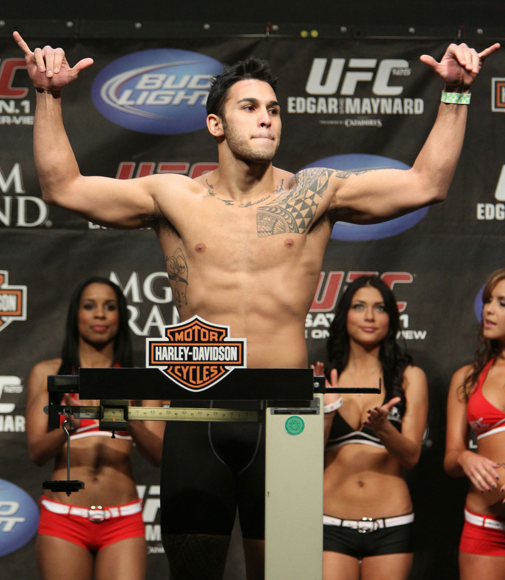 Brad Tavares at the UFC 125 Weigh-in.