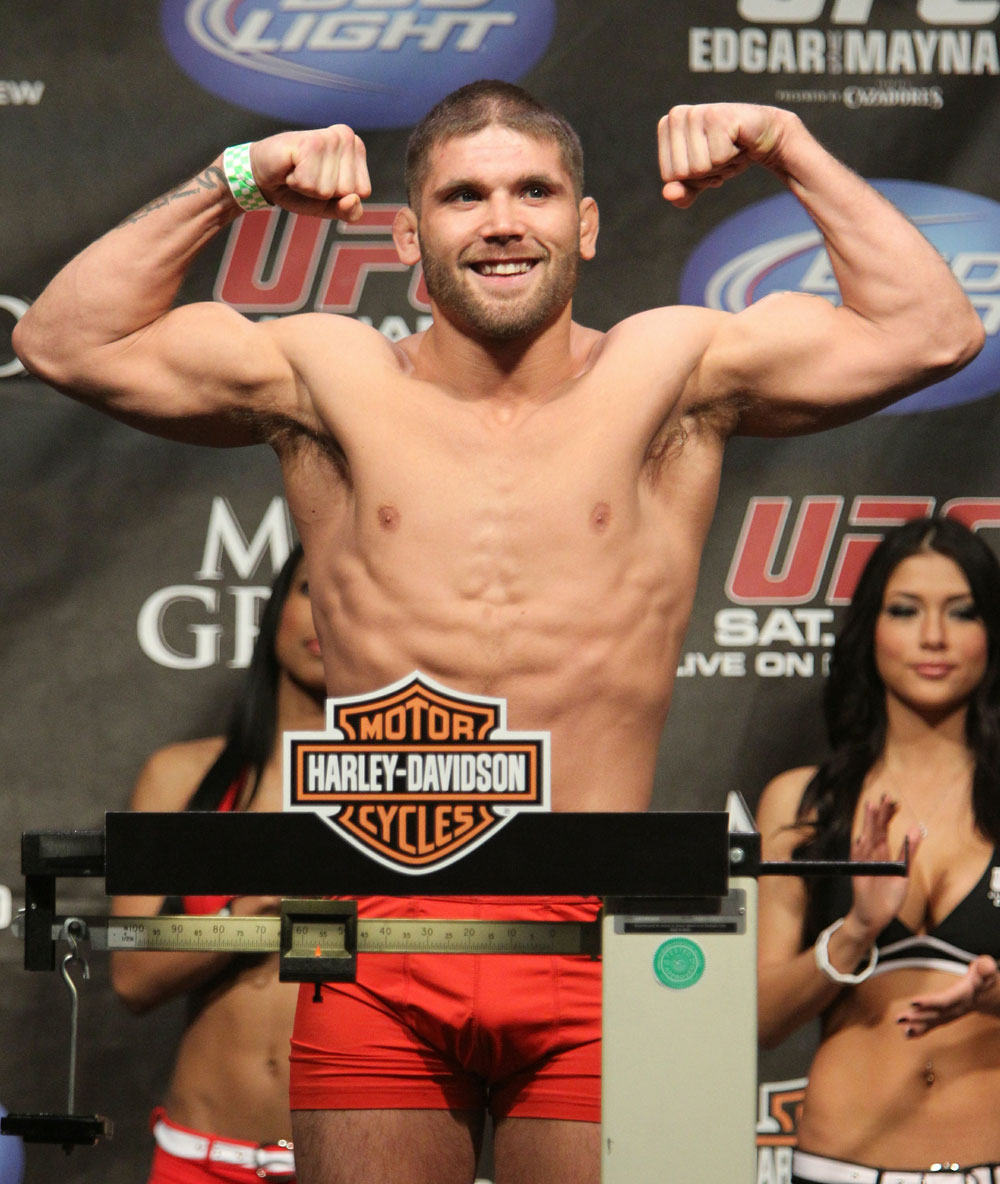 Jeremy Stephens at the UFC 125 Weigh-in.