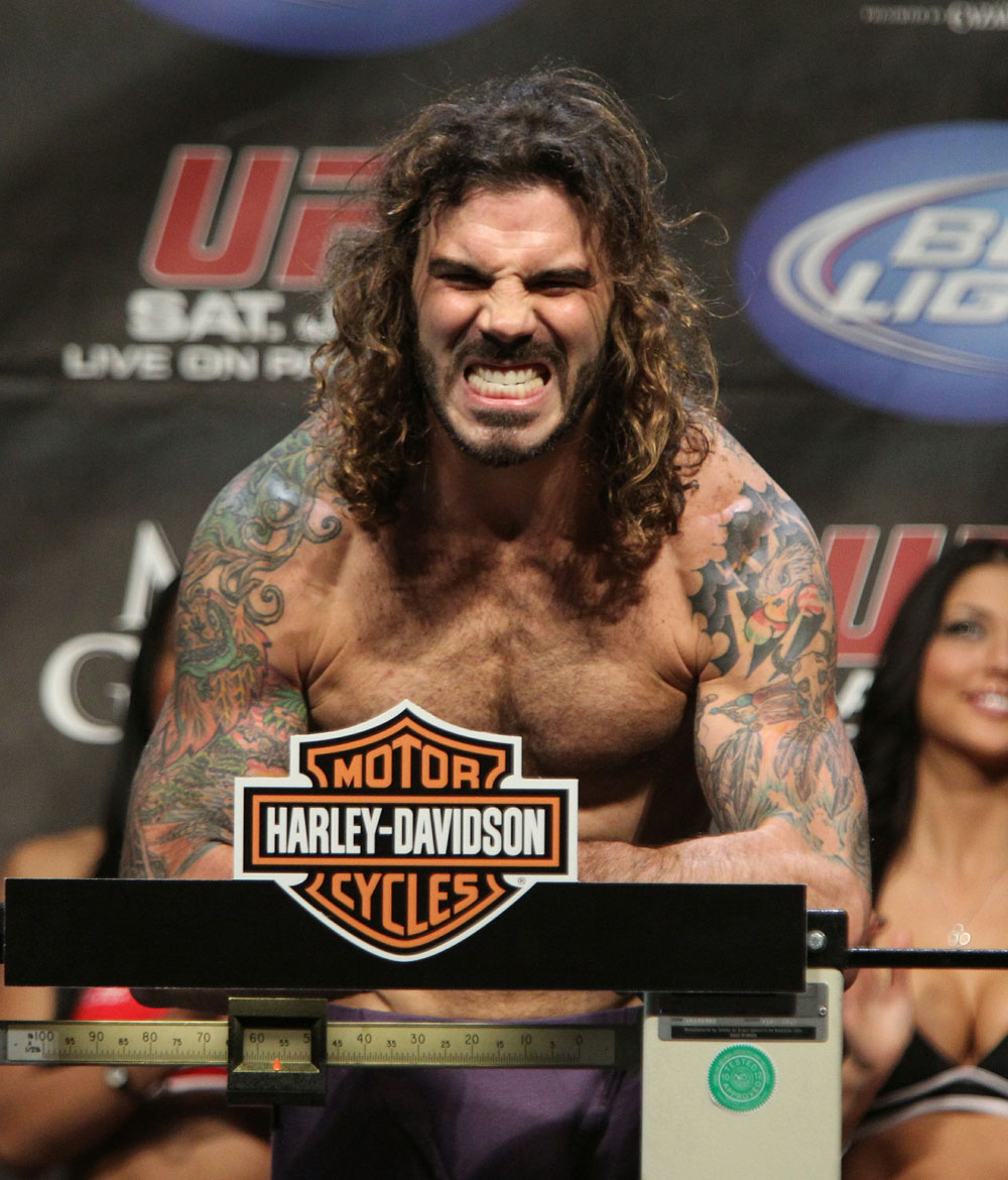 Clay Guida at the UFC 125 Weigh-in.