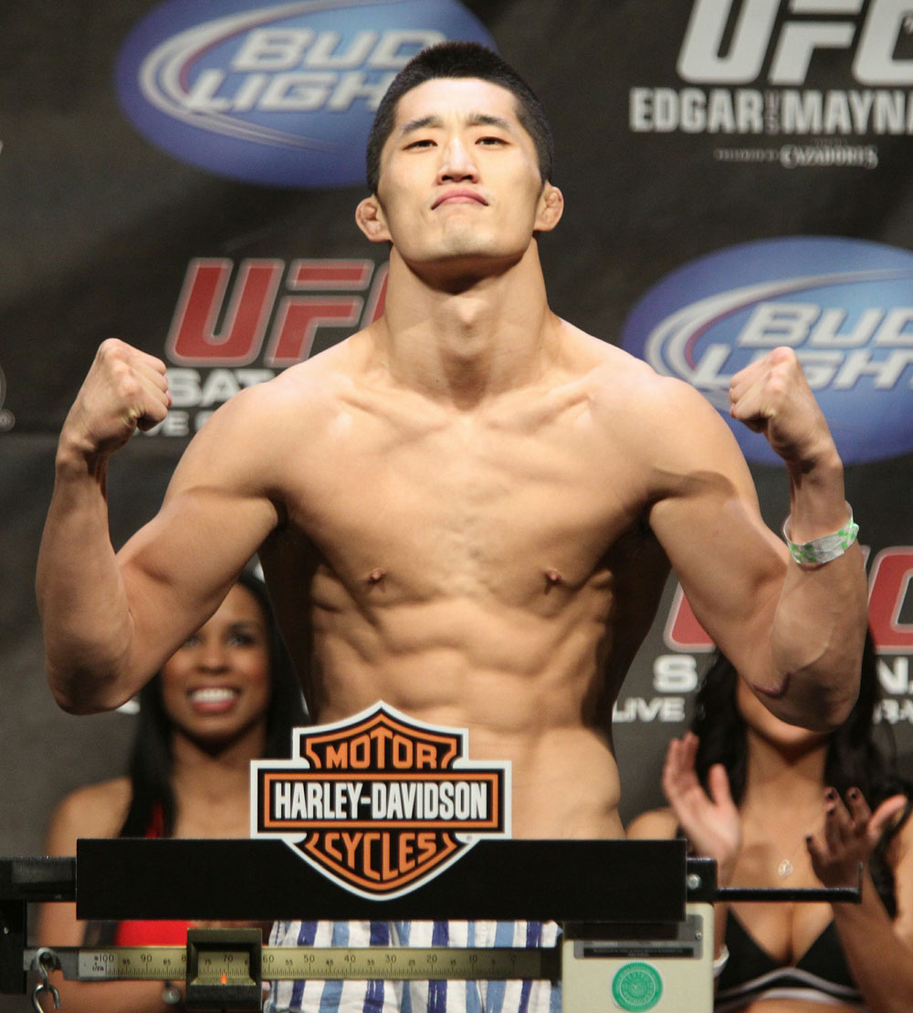 Dong Hyun Kim at the UFC 125 Weigh-in.