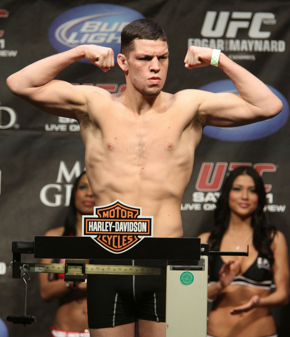 Nate Diaz at the UFC 125 Weigh-in.