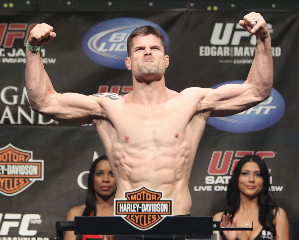 Brian Stann at the UFC 125 Weigh-in.