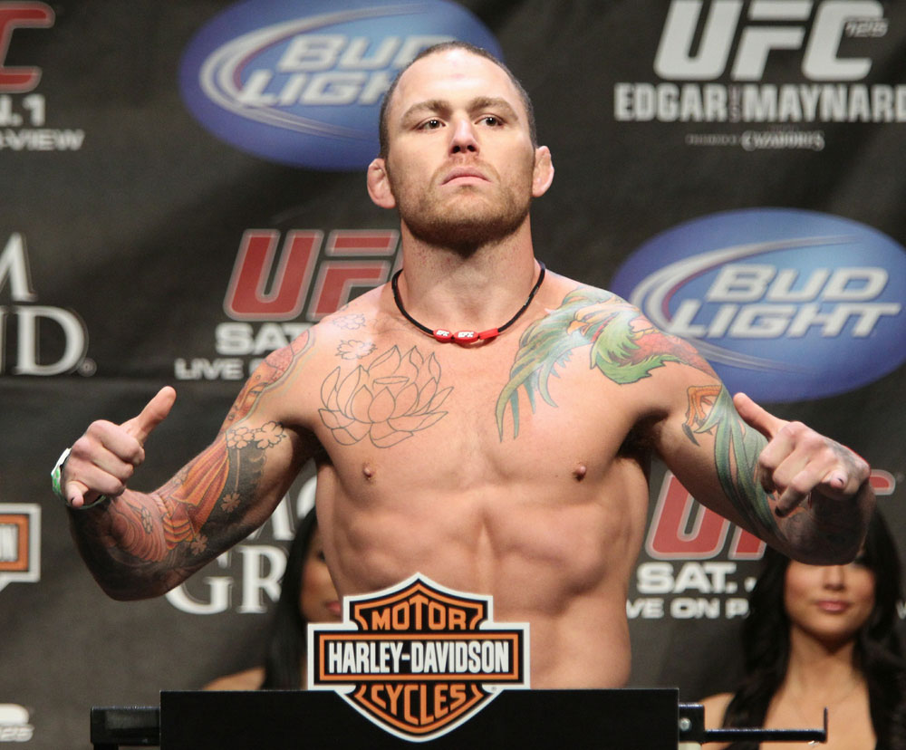 Chris Leben at the UFC 125 Weigh-in.