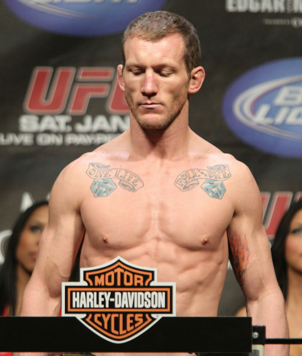 Gray Maynard at the UFC 125 Weigh-in.