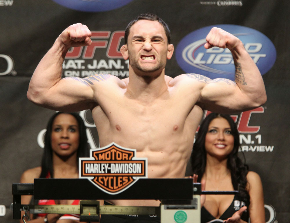 Frankie Edgar at the UFC 125 Weigh-in.