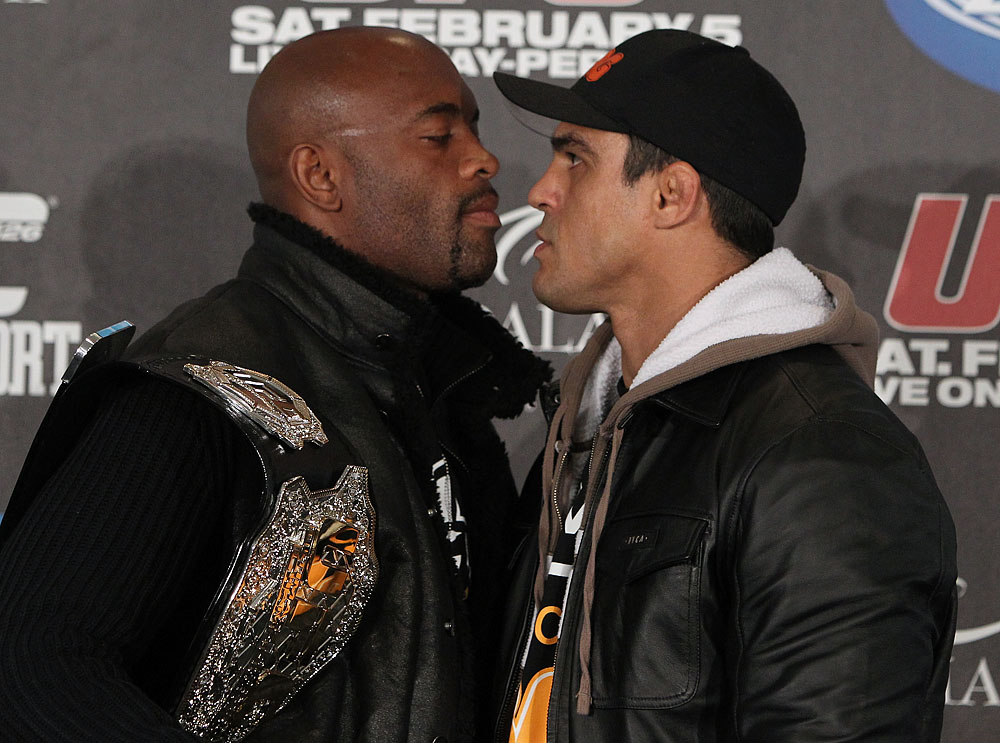 Anderson Silva &amp; Vitor Belfort