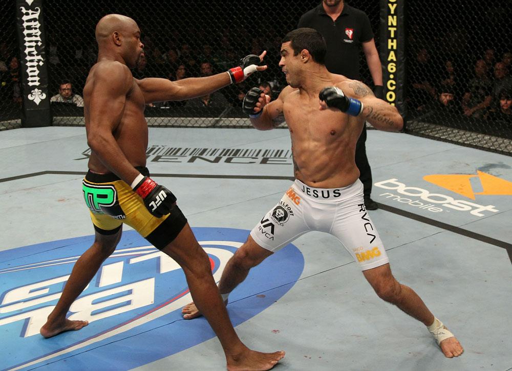 Anderson Silva vs Vitor Belfort