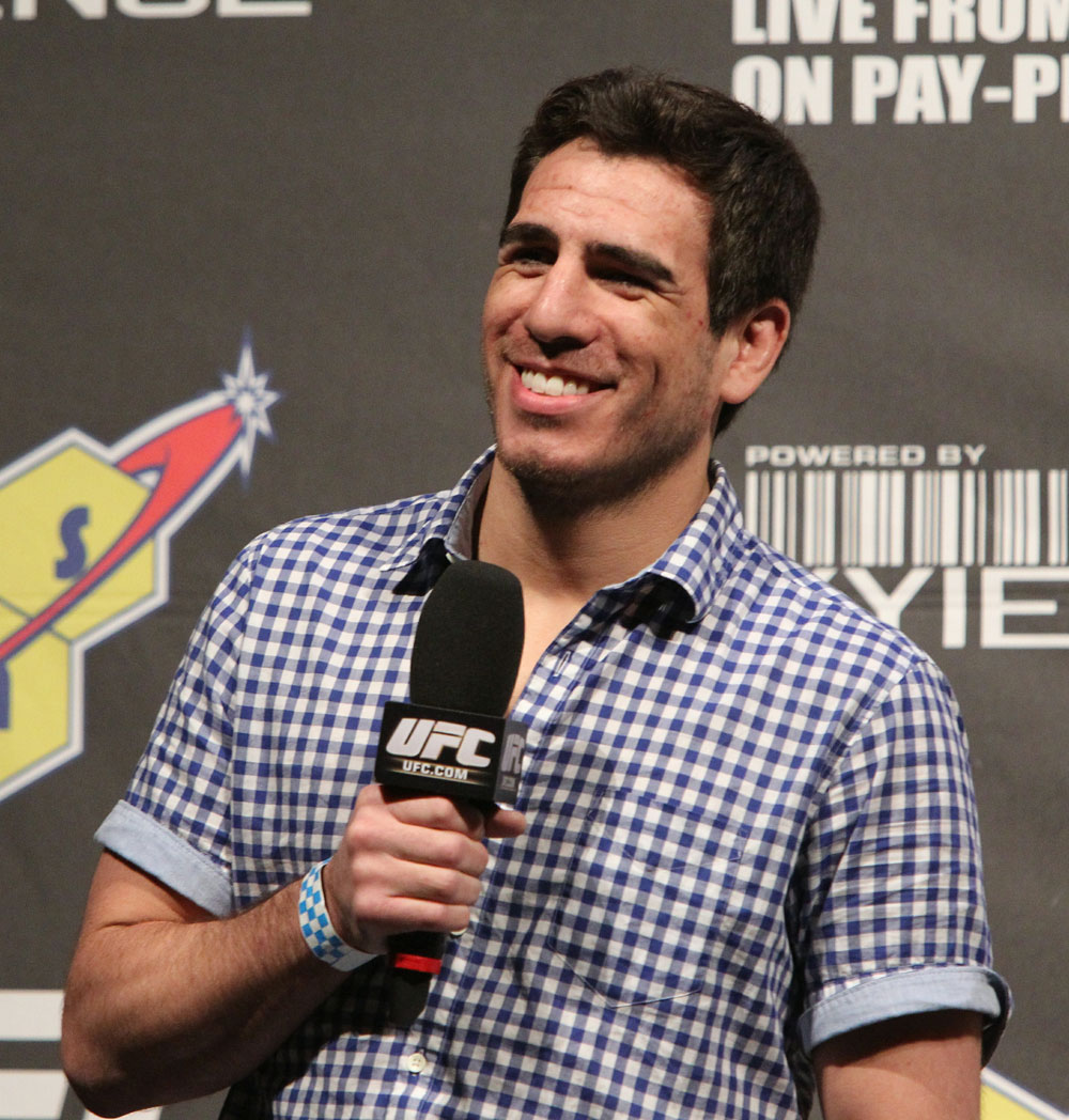 Kenny Florian at the UFC 127 weigh-ins.