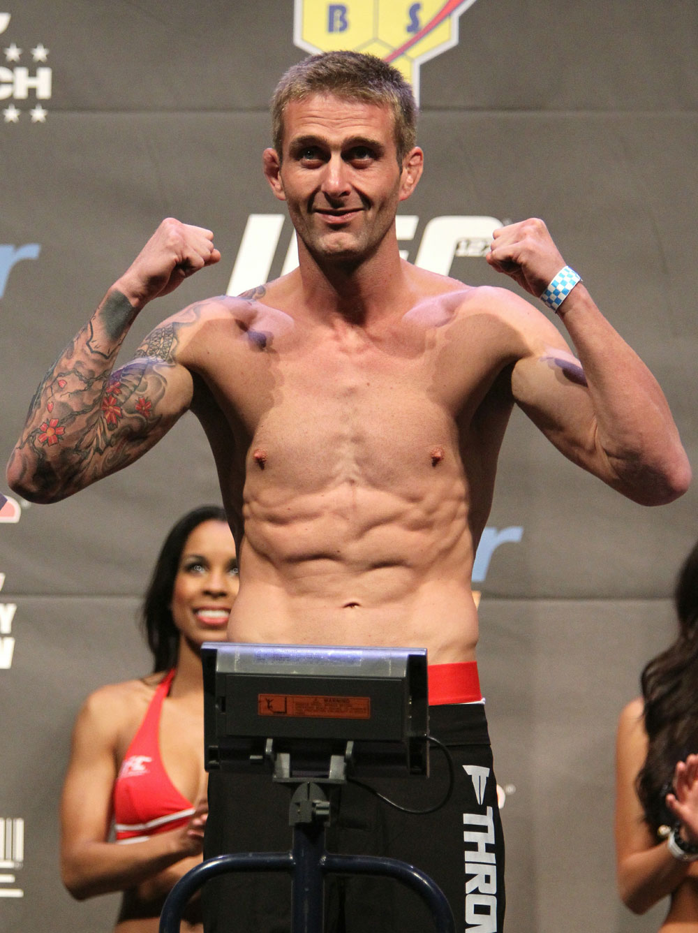 UFC 127 Weigh-in: Curt Warburton