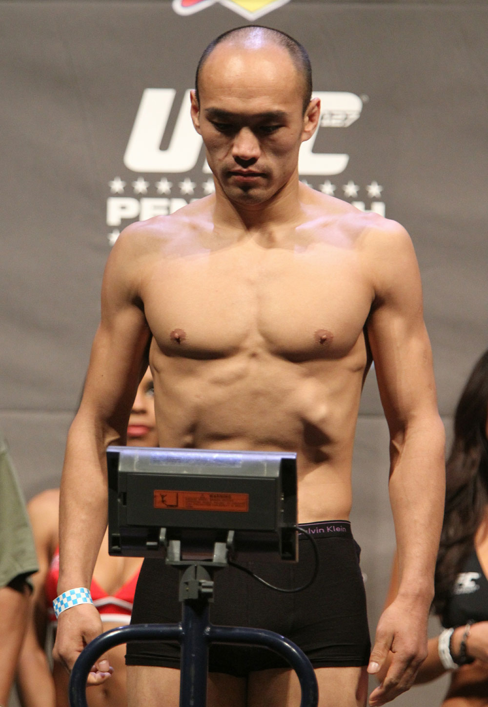 UFC 127 Weigh-in: Tiequan Zhang