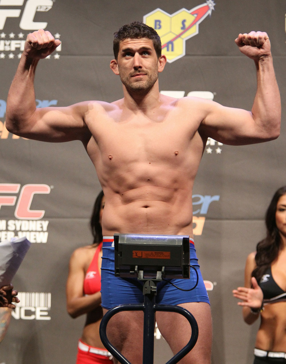 UFC 127 Weigh-in: Tom Blackledge