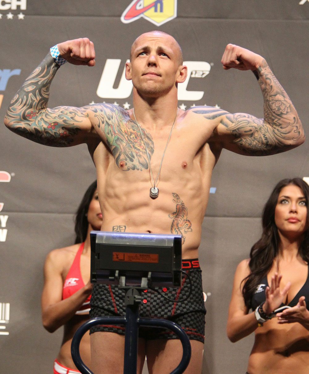 UFC 127 Weigh-in: Ross Pearson