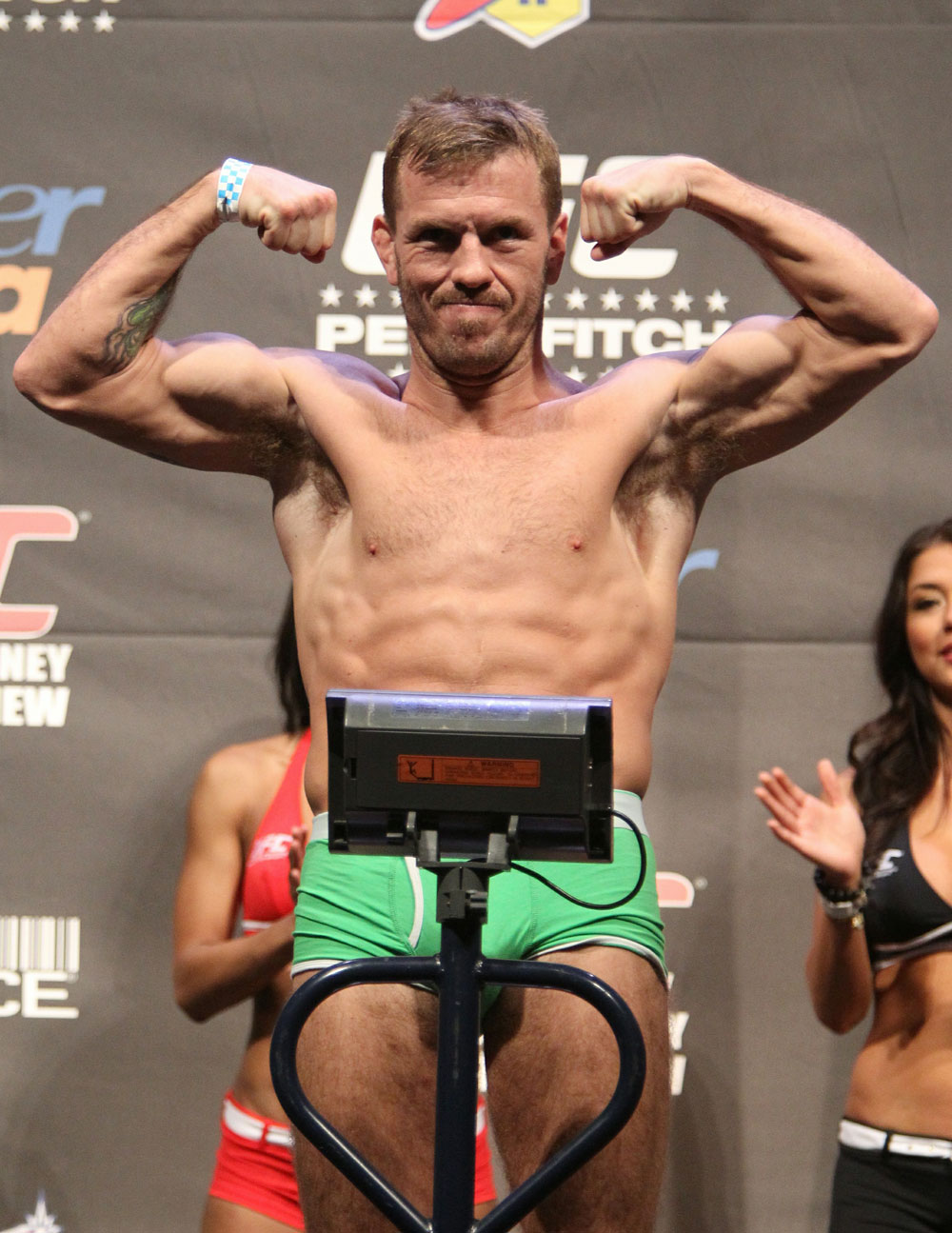 UFC 127 Weigh-in: Spencer Fisher