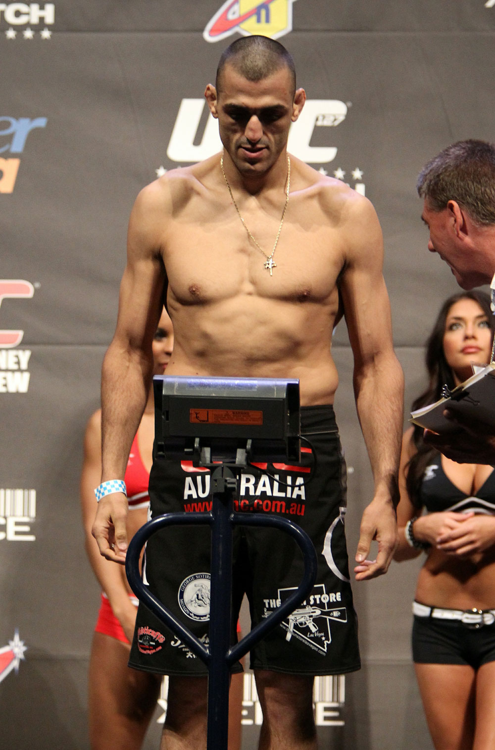 UFC 127 Weigh-in: George Sotiropoulos
