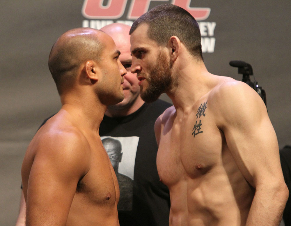 UFC 127 Weigh-In: BJ Penn vs. Jon Fitch